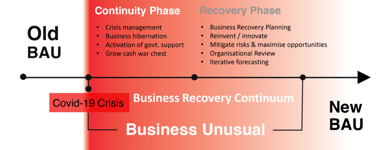 Business Recovery Continuum